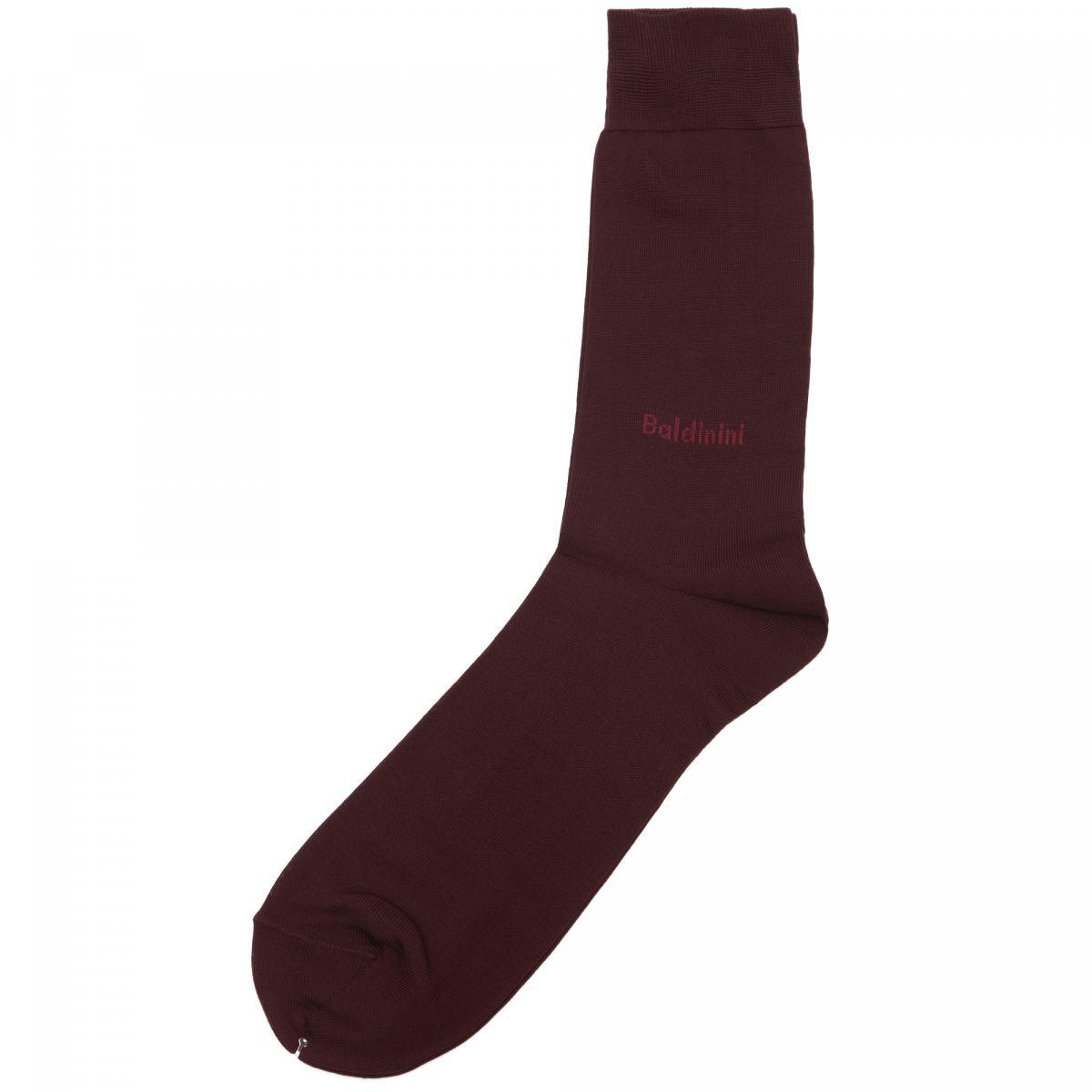 Носки Baldinini бордового цвета