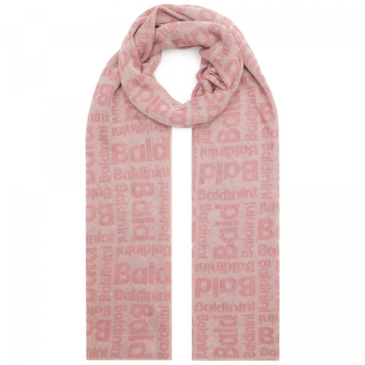 Шарф Baldinini розового цвета