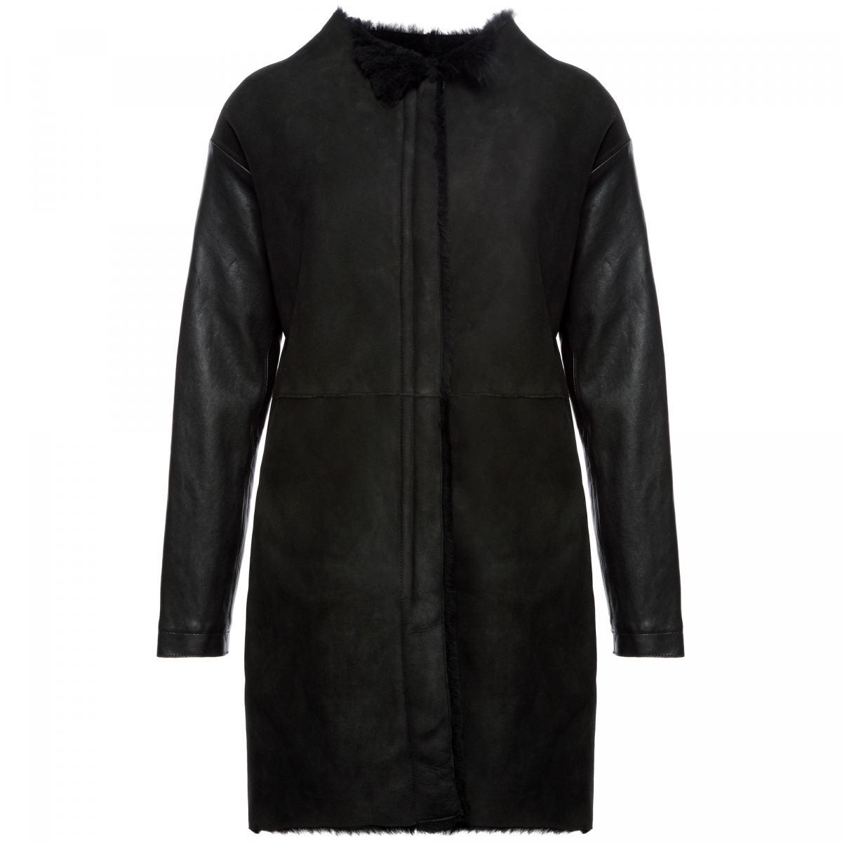 Пальто Principe Di Bologna черного цвета