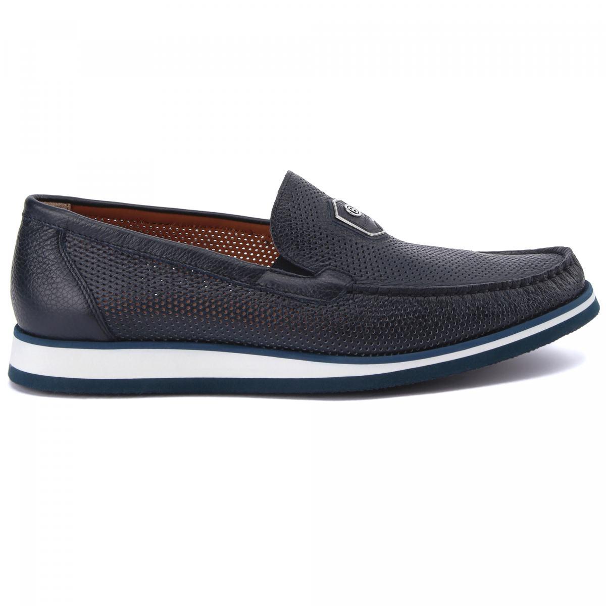 Туфли Baldinini синего цвета
