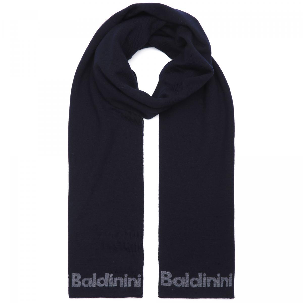 Шарф Baldinini синего цвета