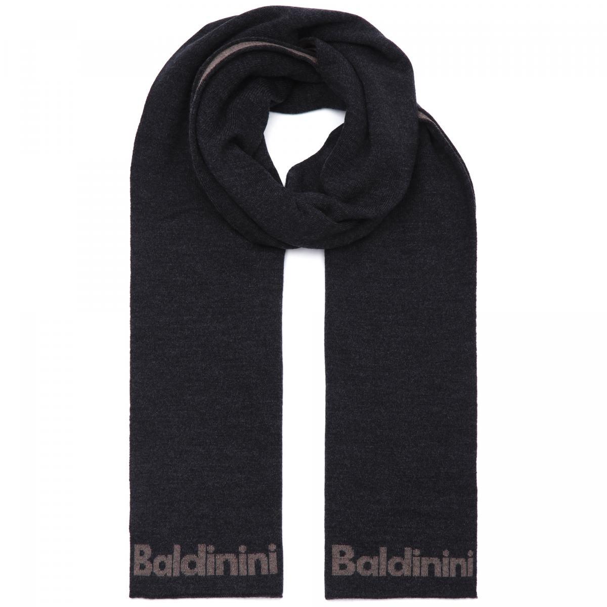 Шарф Baldinini серого цвета