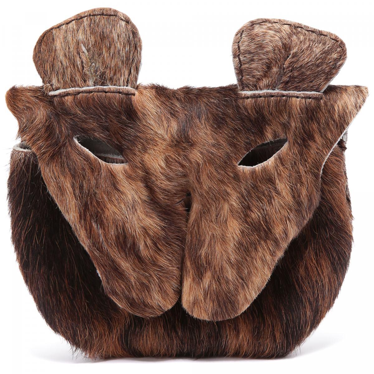 Сумка Vivienne Westwood коричневого цвета