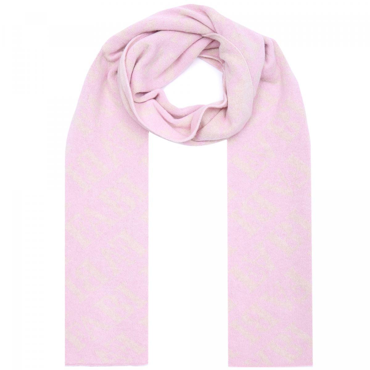 Шарф Fabi розового цвета