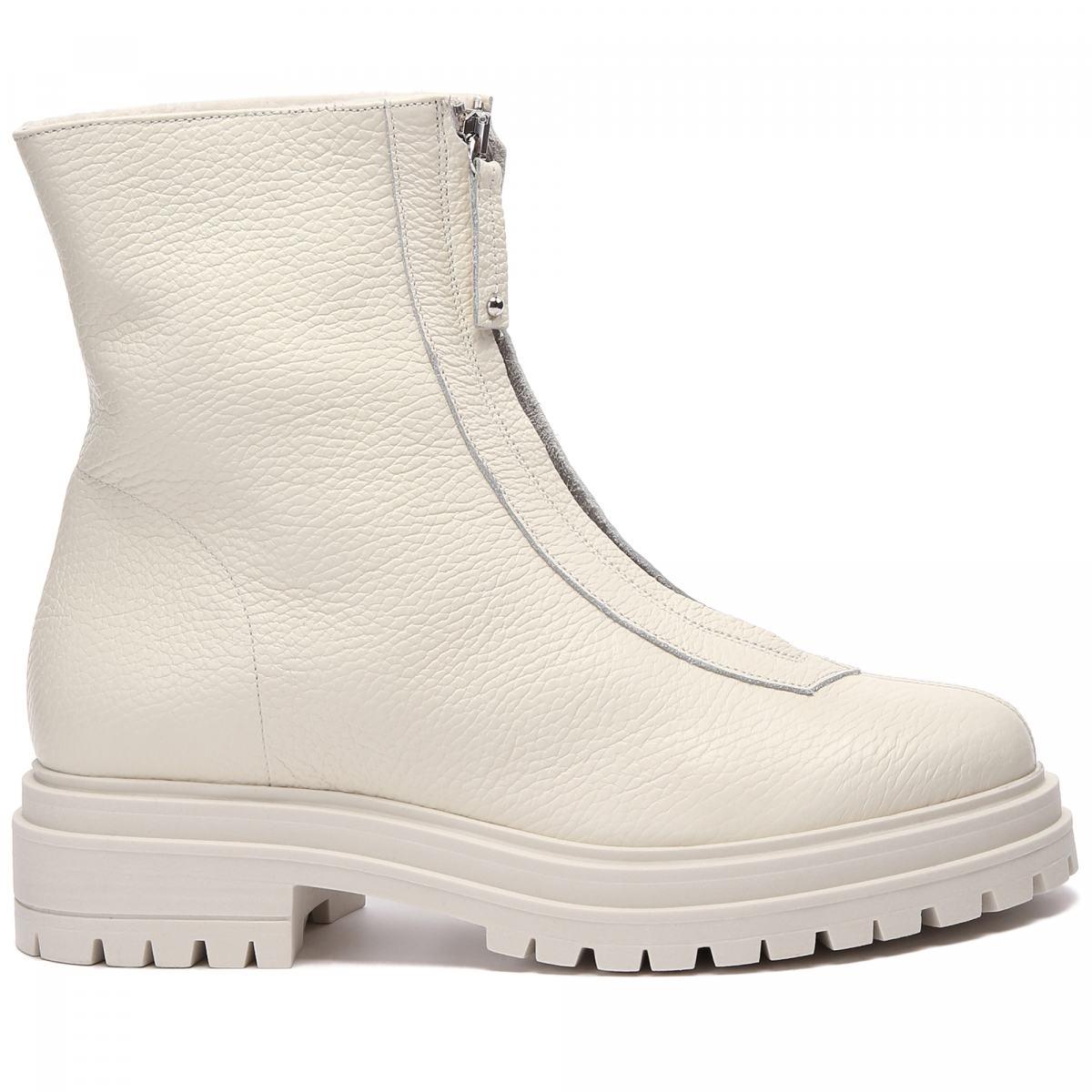 Ботинки Principe di Bologna белого цвета
