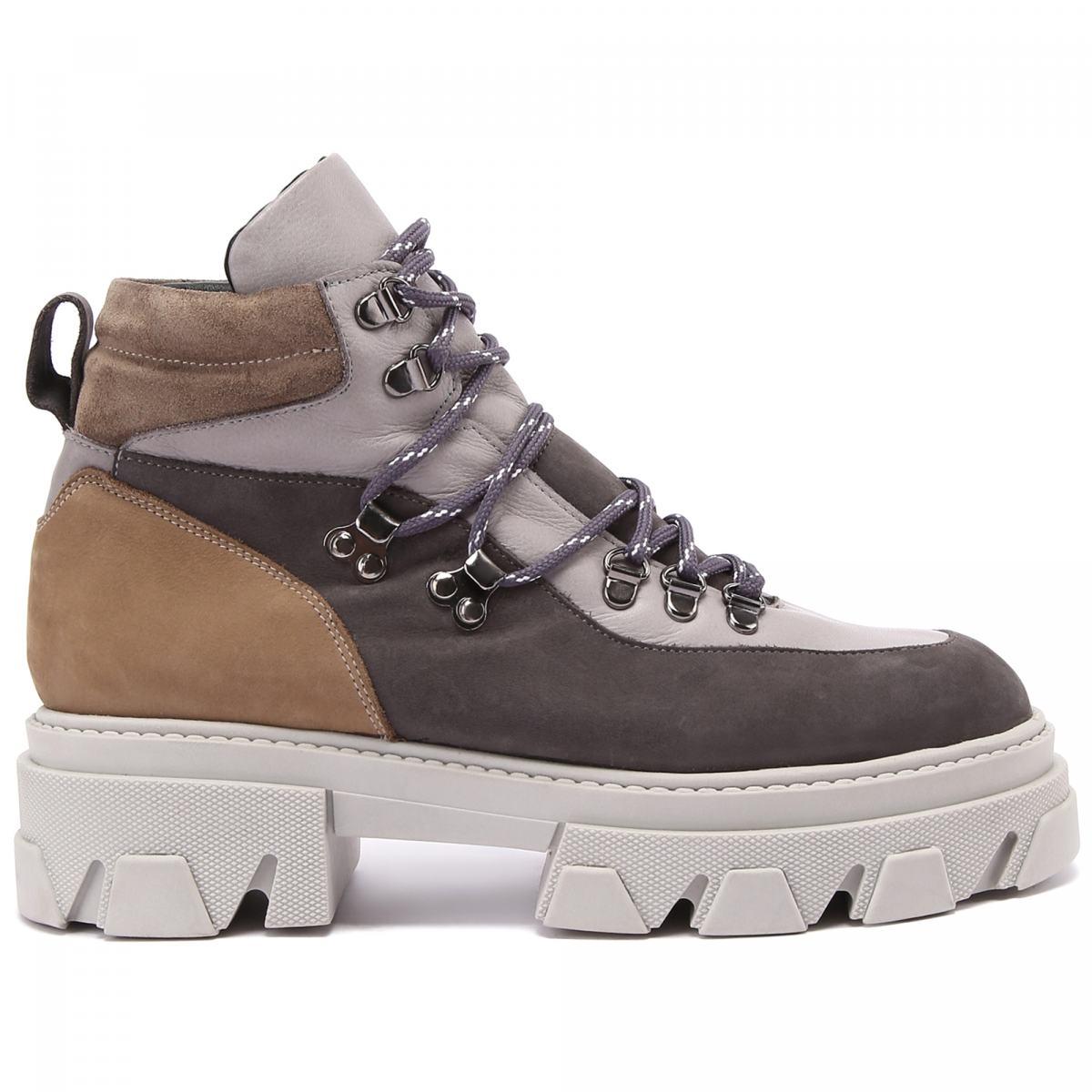 Ботинки Principe Di Bologna серого цвета